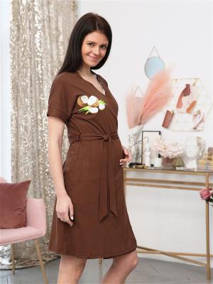 Комплект 164 для беременных и кормящих халат и сорочка в роддом