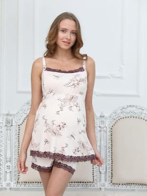 Пижама женская для беременных и кормящих  1-НМП 33032