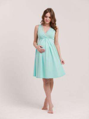 Сорочка женская для беременных и кормящих 1-НМП 08502