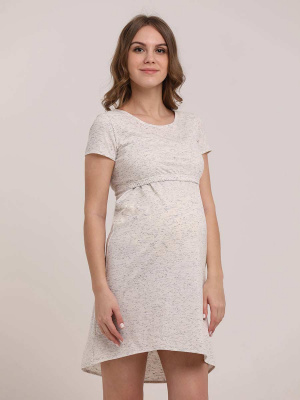 Сорочка женская для беременных и кормящих 1-НМП 23901