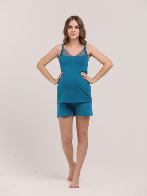 Пижама женская для беременных и кормящих 1-НМП 35728