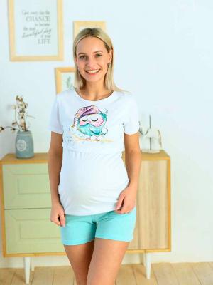 Пижама для беременных и кормящих 1-НМП 26820